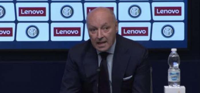 """Inter, pas Contes flet edhe Marotta: """"Nuk ekziston dueli ndermjet meje dhe Contes. Per Perisic dhe Nainggolan ju them…"""""""