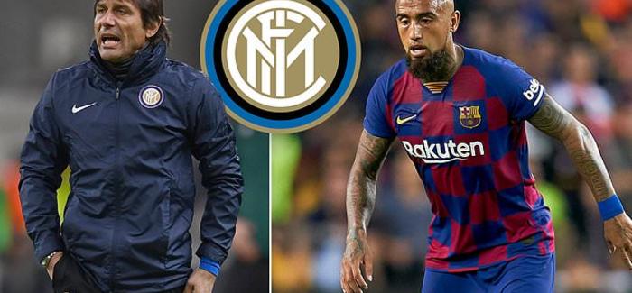 """Vidal ben qe Conte te ndryshoje komplet mesfushen: """"Ja si do te luaje Interi: bashke me Vidal, edhe Sensi qe…"""""""