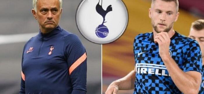 """Sky Sport UK zbulon oferten qesharake te Tottenham per Skriniar: """"Klubi londinez ka ofruar vetem…"""""""