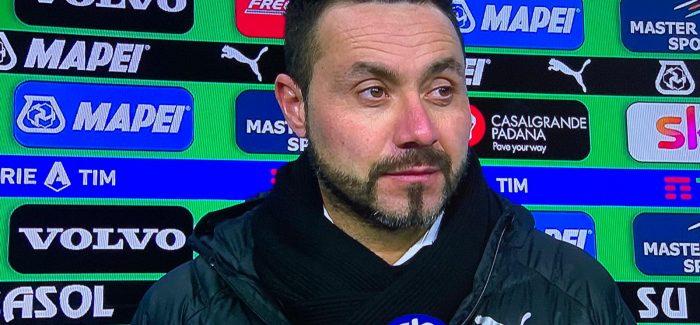 "Tranjeri i Sassuolos shperthen pas ndeshjes: ""Arbiter skandaloz. Ishim superior ndaj Interit, por Irrati vendosi qe…"""