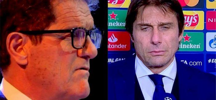 "Capello, sa fjale te renda ndaj Contes: ""Po si mund te thote tranjeri i Interit ato fjale? Ti nuk je nje…"""