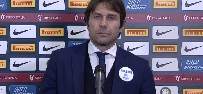 """Conte nuk permbahet pas ndeshjes: """"Jam njeriu me krenar ne bote qe jam tranjer i Interit. Shoh Lukakun dhe…"""""""