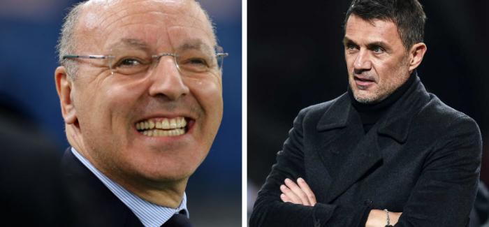 """Inter, shperthen derbi i zjarrte i merkatos me Milanin? """"Marotta dhe Maldini po bejne gjithcka per te arritur te…"""""""