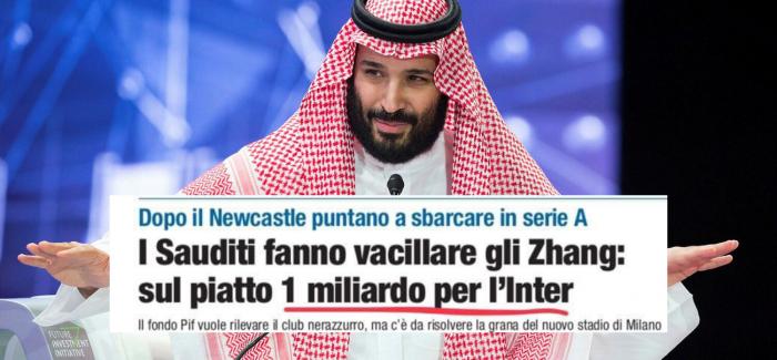 """E PABESUESHME – """"Inter nje hap larg shitjes te Sheiket e Arabise Saudite: ja detajet."""""""